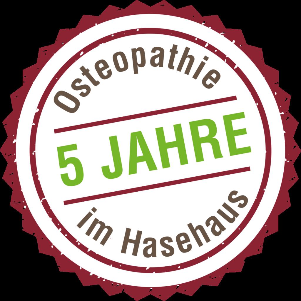 Osteopthie 5 Jahre im Hasehaus in Osnabrück