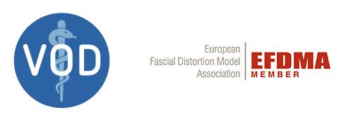 Verband der Osteopathen Deutschland und EFDMA Member Logos